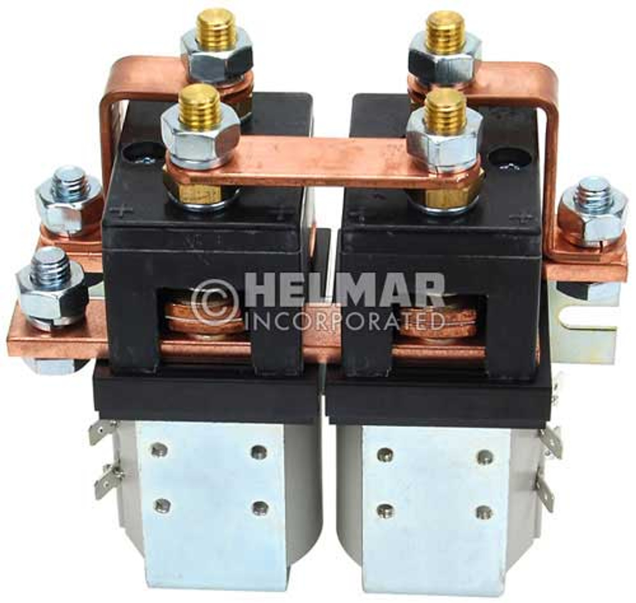 CTR-36-324 36/48 Volt 250 Amp Contactor, Double Pole - Double Throw - Blow Outs