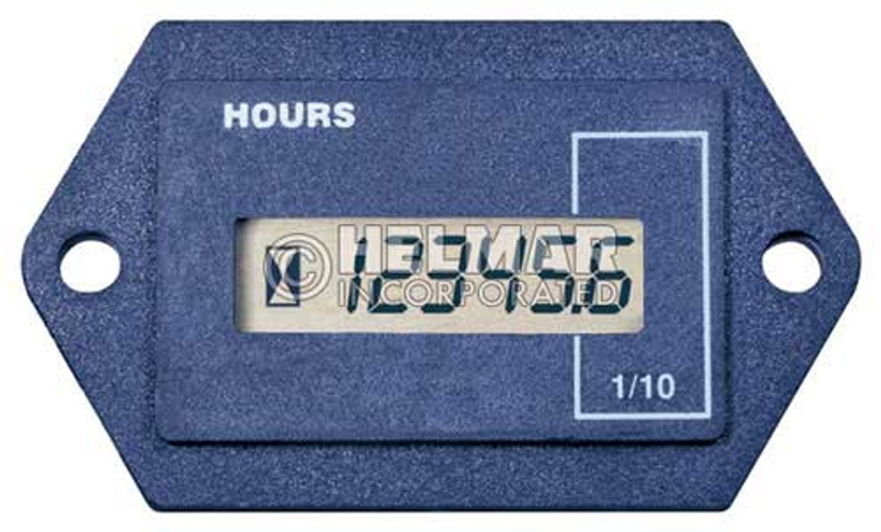 701FN00101248D Curtis 700 Series Solid State Hour Meter and Counter F Case, 12-48 Volts