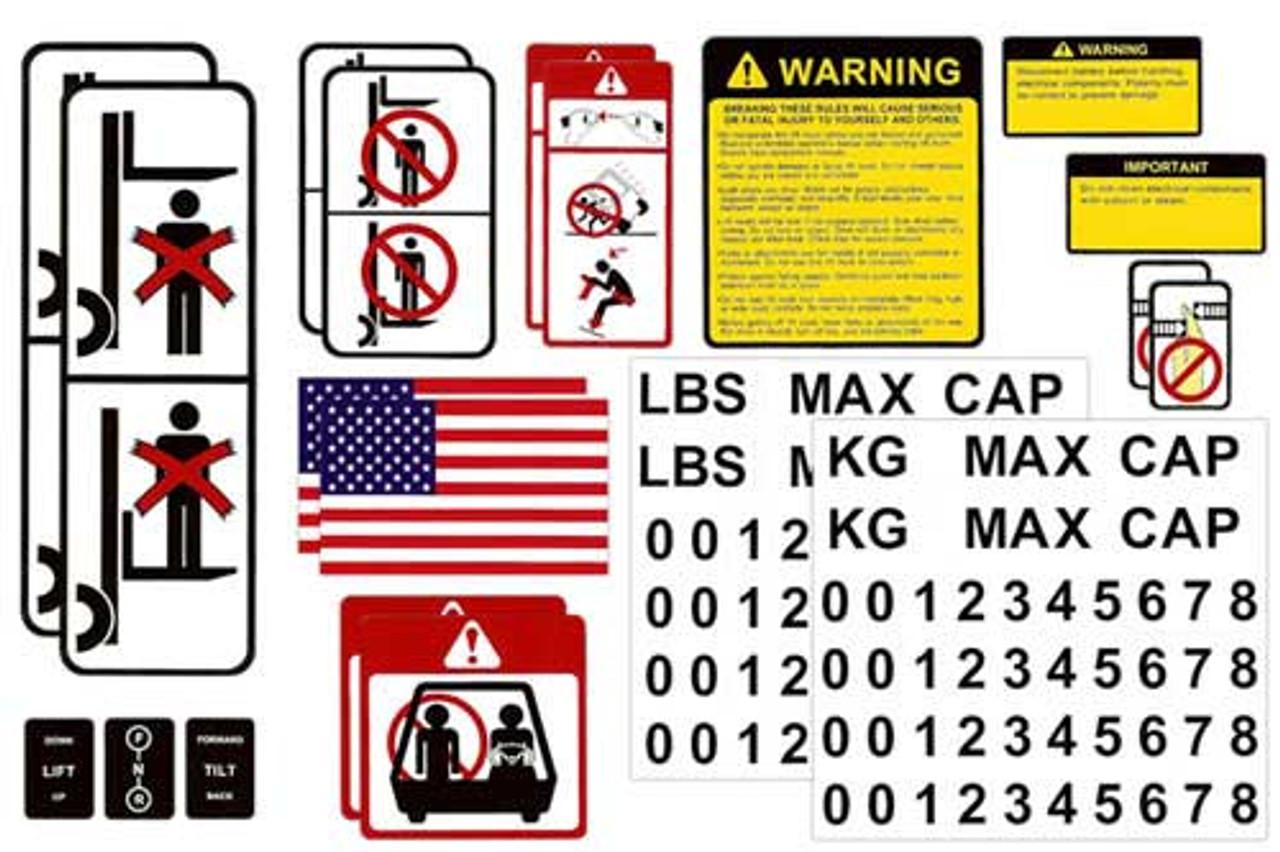DECAL-KIT-USA Universal Sticker