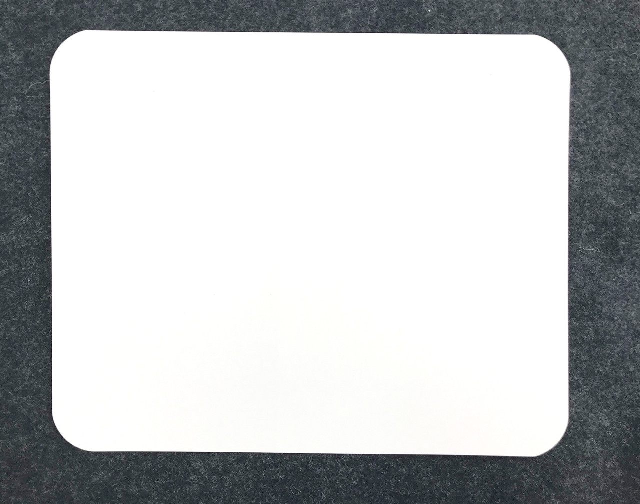 White Stick-On Number Panel