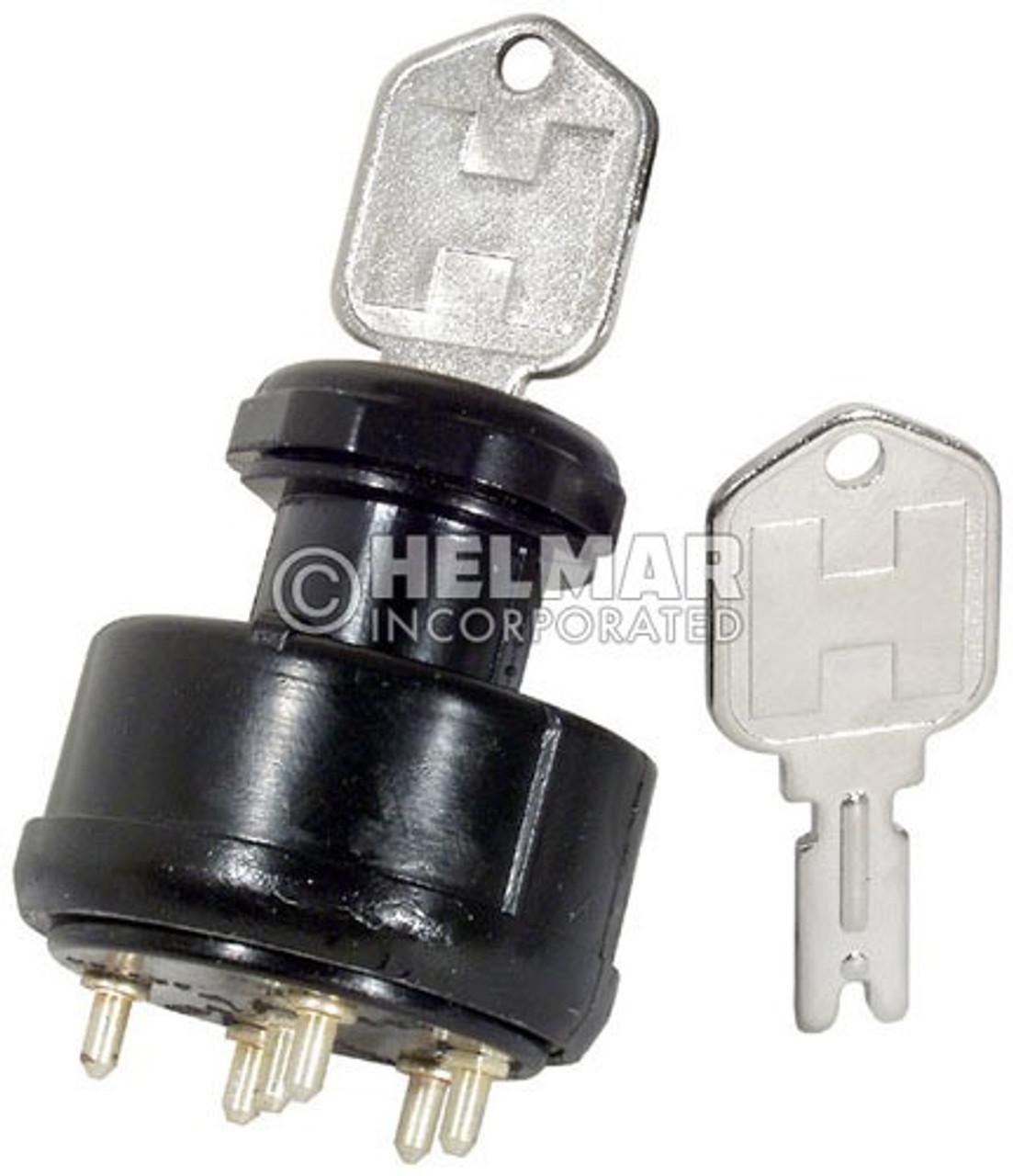 1337114 Hyster Anti-Restart Ignition Key Switch