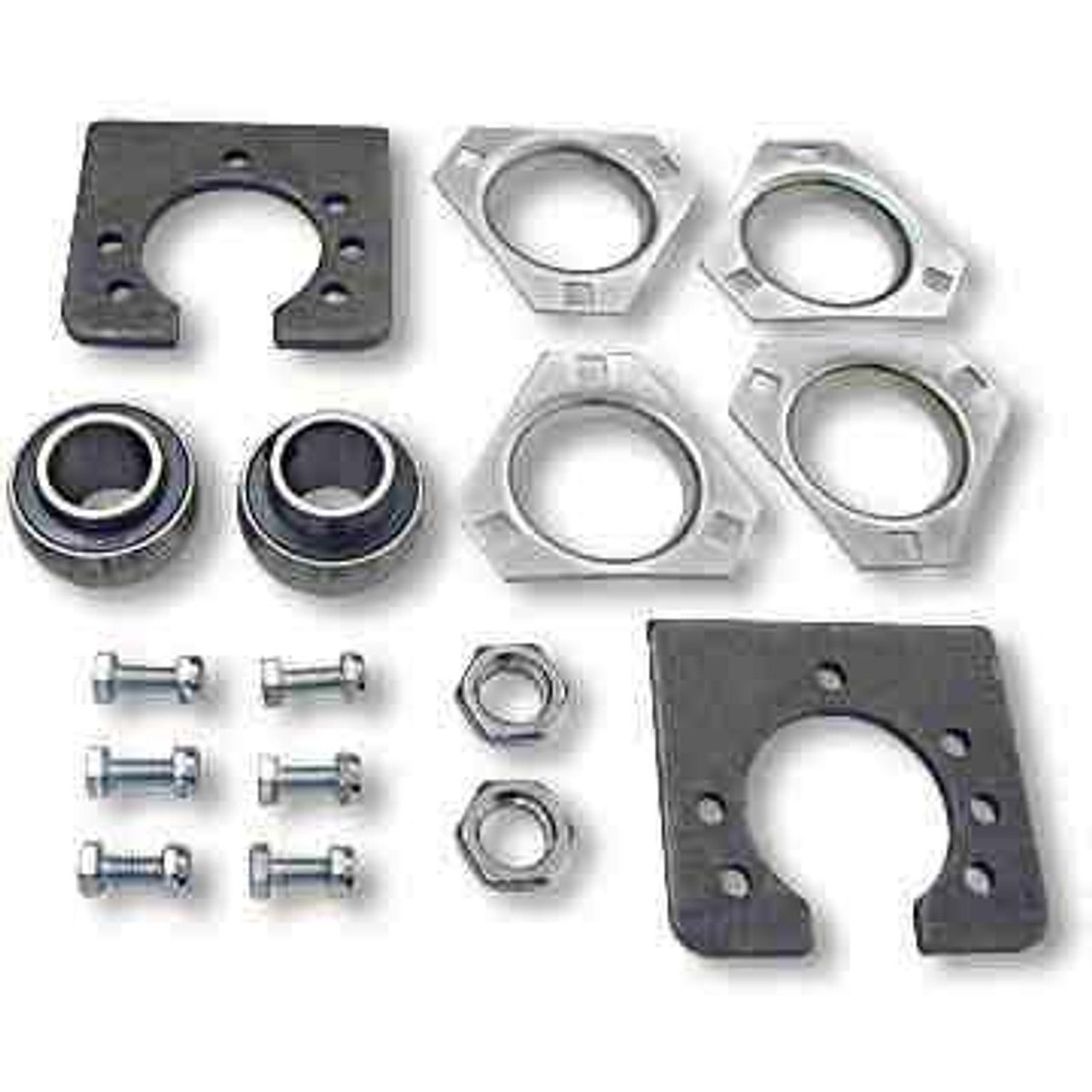 """1-1/4"""" Free Spinning Live Axle Bearing Kit, 3-Hole Flangettes"""