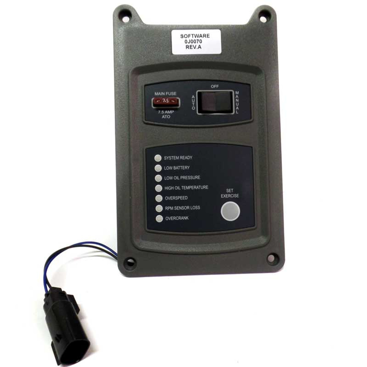 Generac 0J0064 Control Panel Assembly