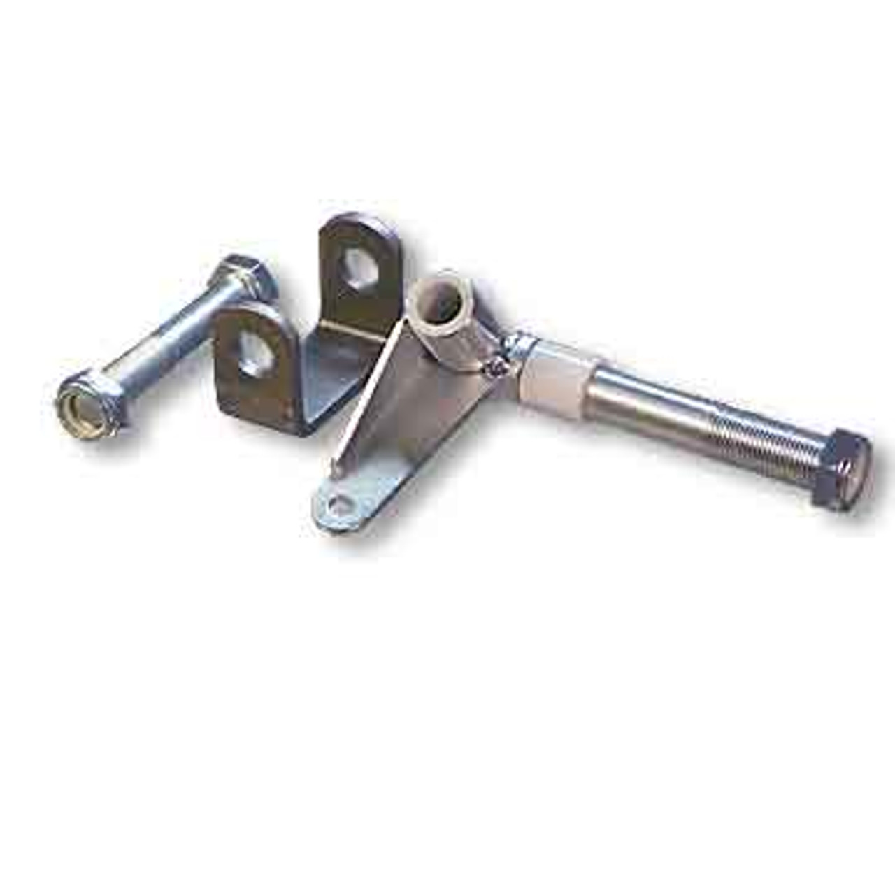 """Spindle & Bracket Set, 3/4-16 Axle X 6"""" Length, 5/8 Kingpin, Side #1, with Hardware"""