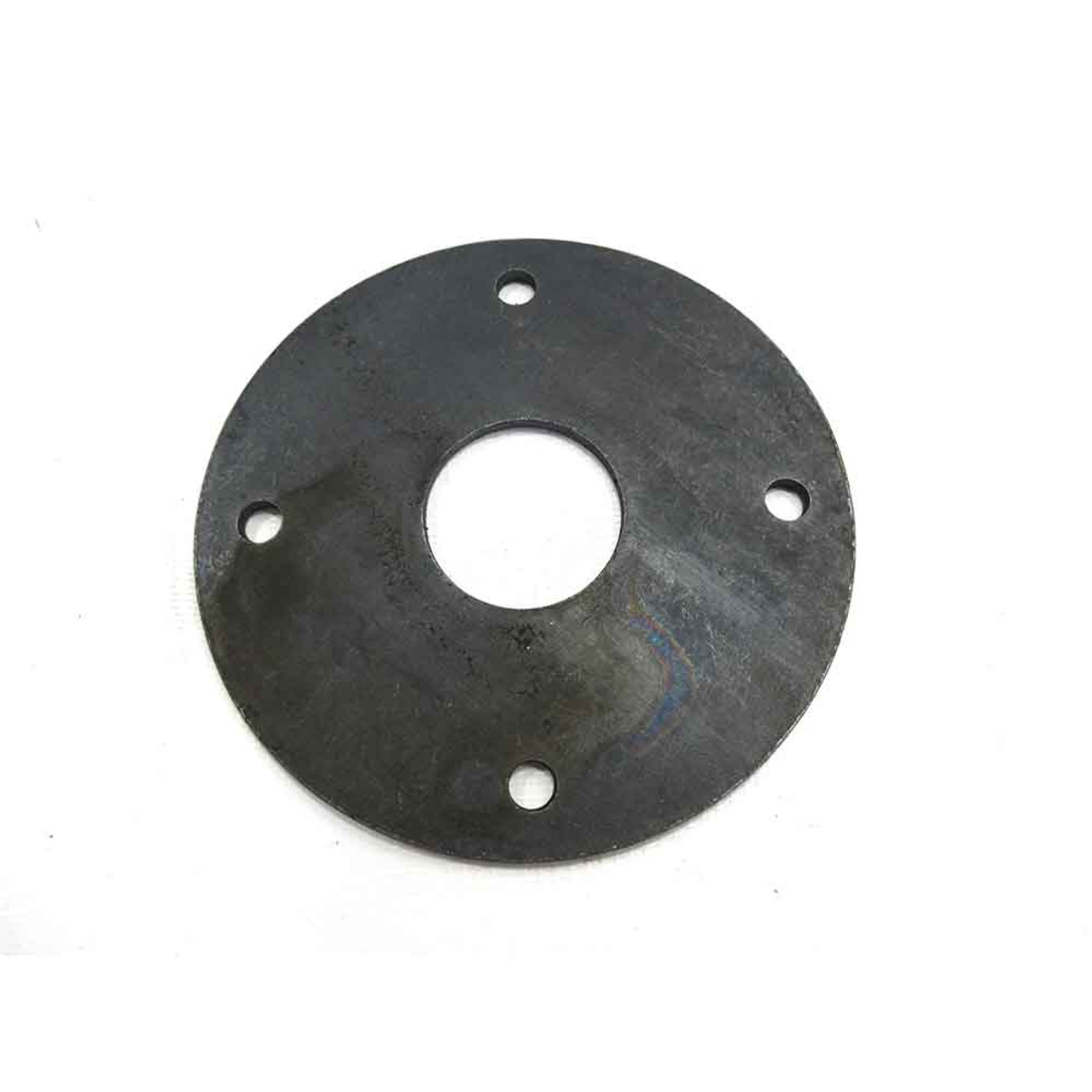 """Steel Disc 5"""" OD, 1 1/2"""" Bore, 4 Holes On 4"""" Bolt Circle, .165"""" Thick"""
