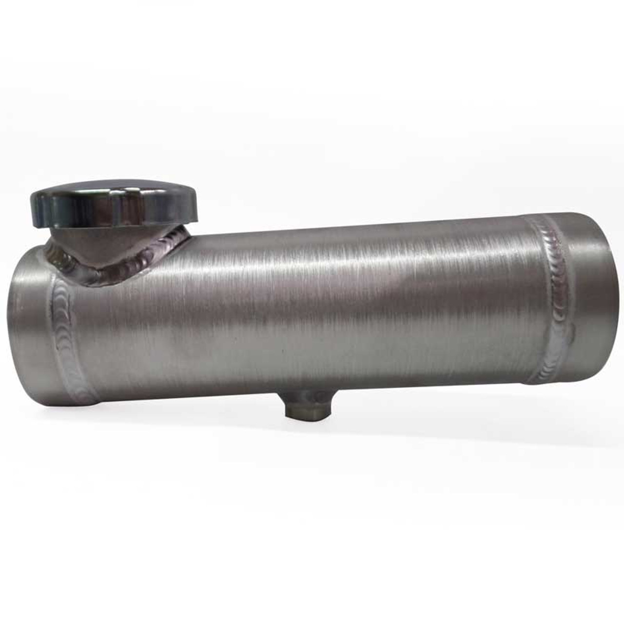Spun Aluminum Round 3x10 Fuel Tank with (2) Brackets