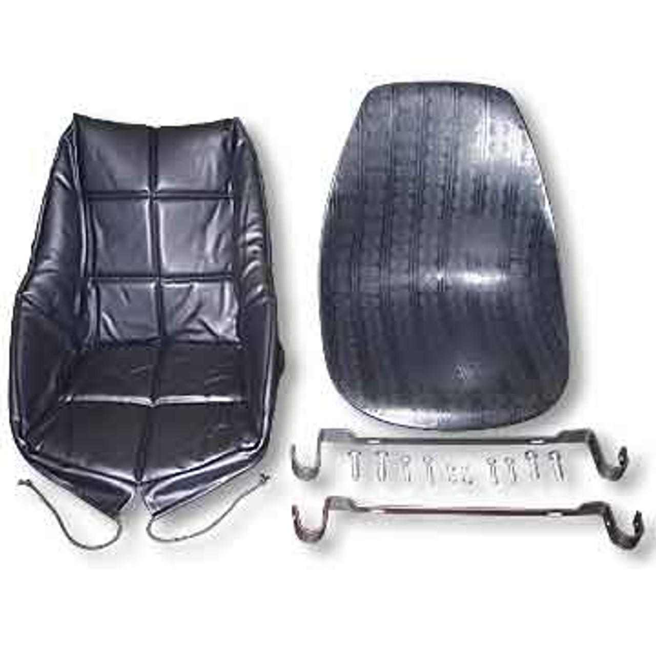 Bucket Seat Kit, Complete, With Bracket, Hardware & Seat Cover