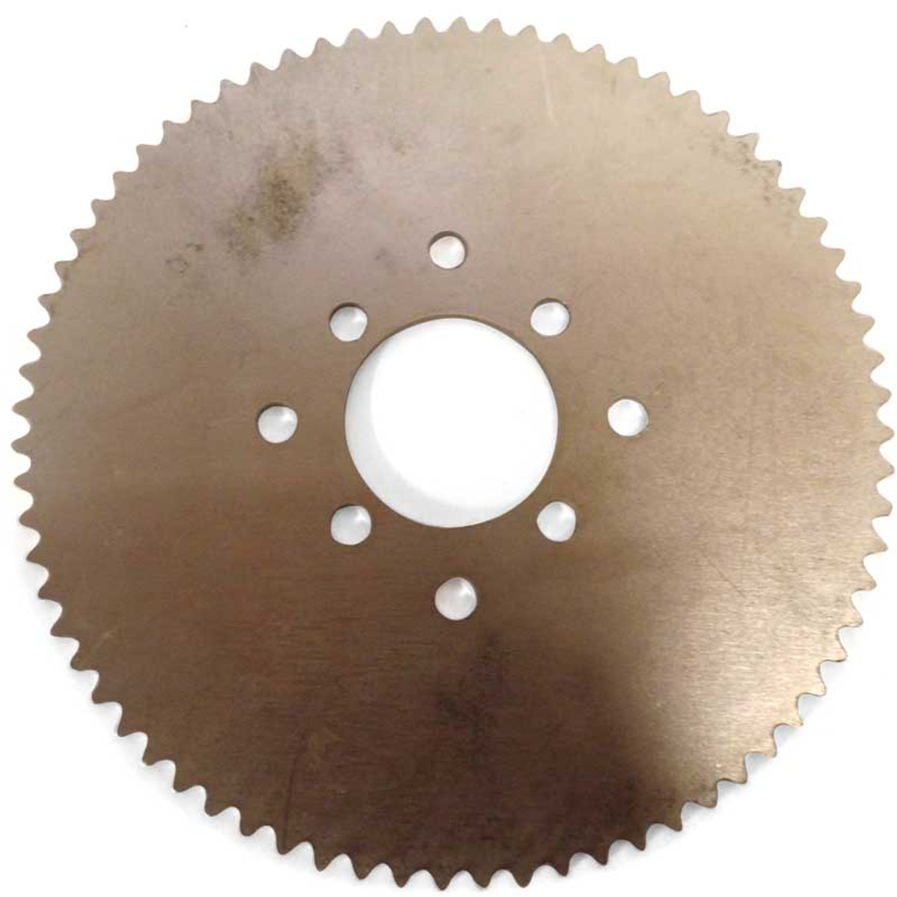 """72 Tooth Steel Sprocket 35 Chain, 2.125"""" Bore, Dual 4 Hole Pattern"""