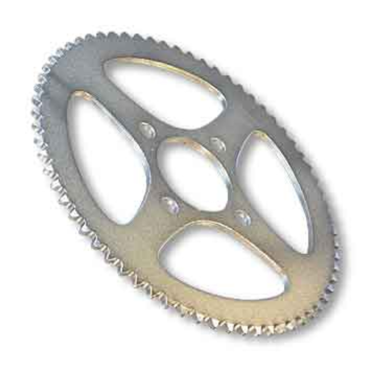 """54 Tooth Steel Sprocket 40 41 420 Chain, 2"""" Bore, 4 Holes, 2.875"""" Bolt Circle"""