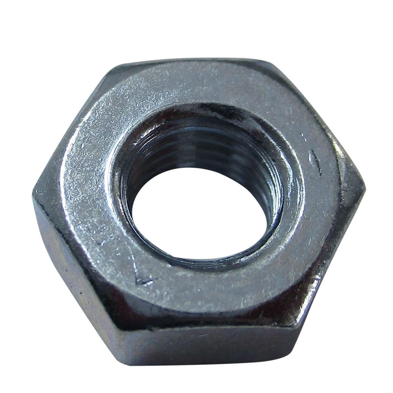 Hex Nut, 1/4-28, Zinc Plated