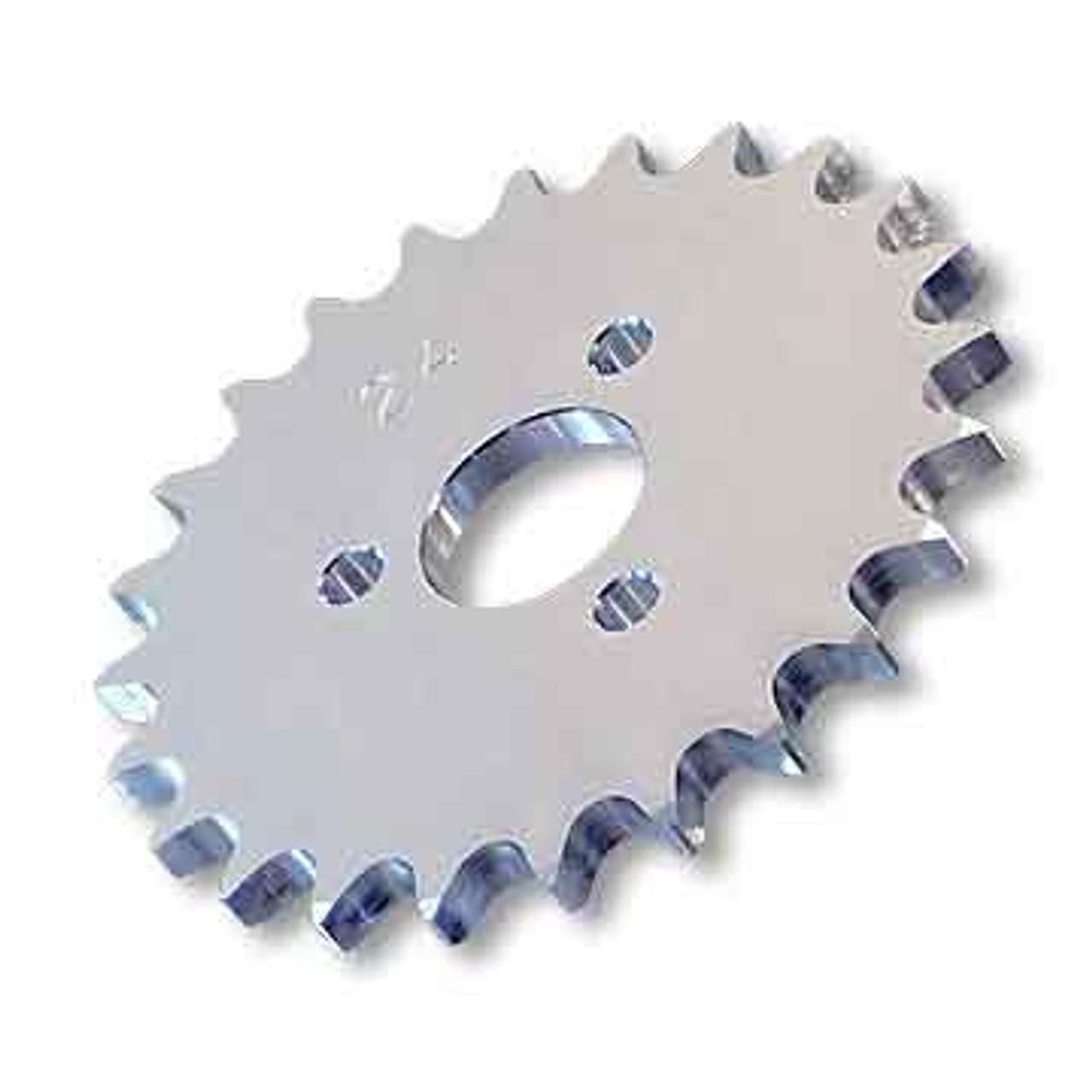 "33 Tooth Engine Sprocket, Aluminum, 40 Chain 1"" Bore, 1.680"" Bolt Circle"