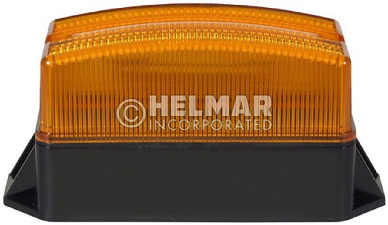 """3971A Preco 5"""" Amber Single Flash Low Profile Strobe Light"""
