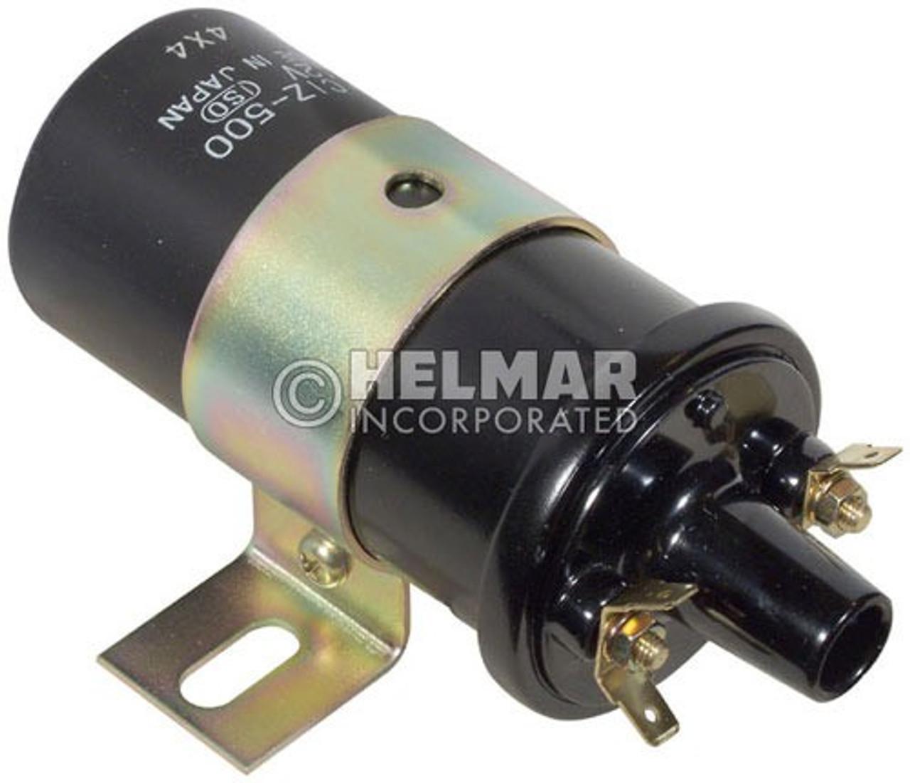 1324278 Hyster Original Hitachi Ignition Coil, 12 Volt Internal Resistor, Type A