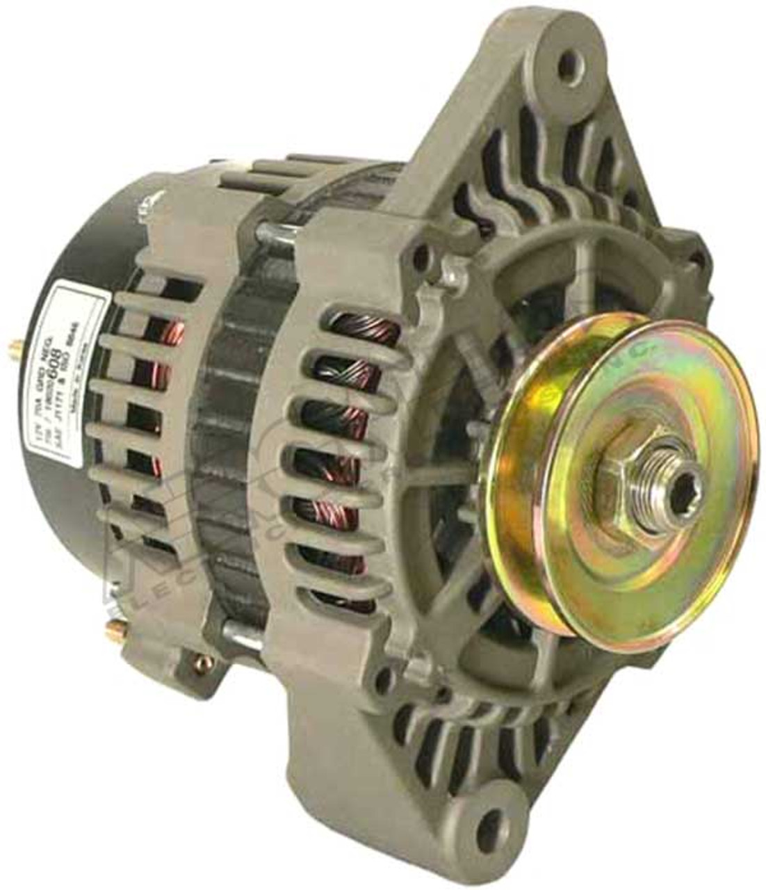 Alternator for 7SI Marine Applications IR/IF, 12-Volt, 70 Amp ADR0298