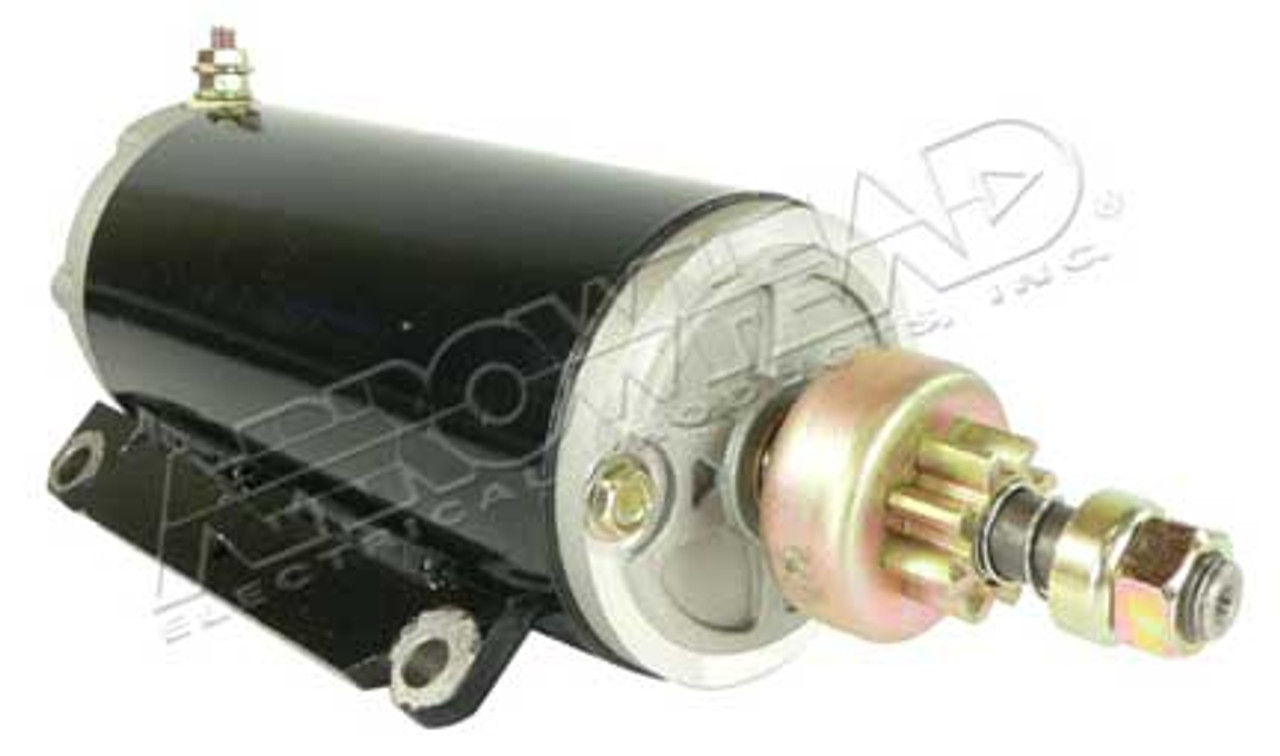 Starter for OMC 12-Volt, CCW, 8-Tooth
