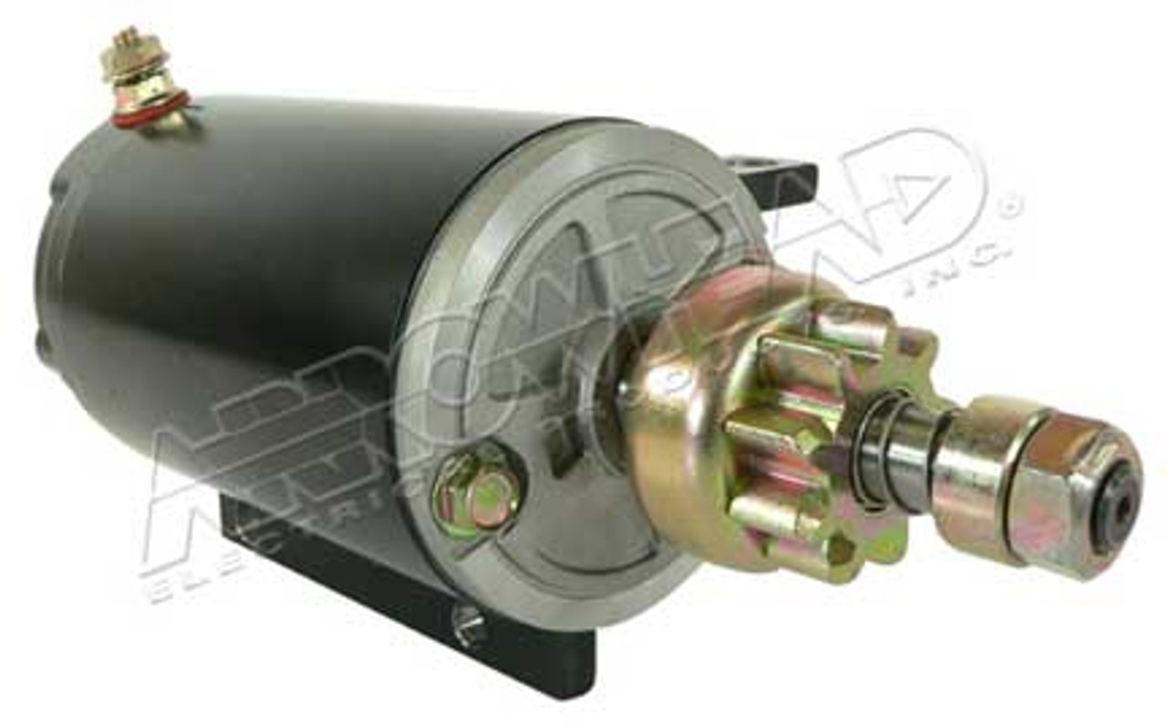 Starter for OMC 12-Volt, CCW, 9-Tooth