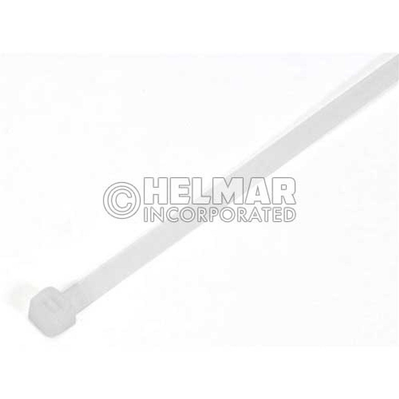 """05717 Cable Tie 7"""" Length, White"""