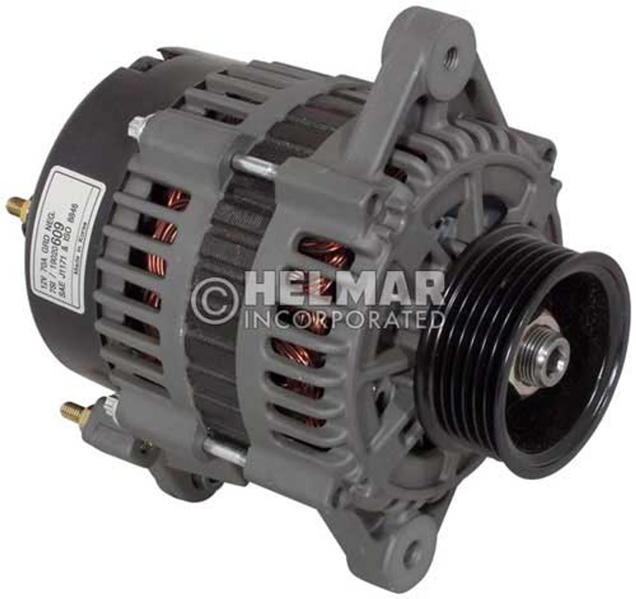 1534017 Hyster Alternator 12 Volt 70 Amp Heavy Duty