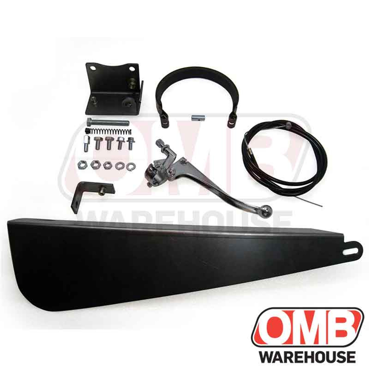 """Clutch Brake and 7/8"""" Brake Lever Kit with ARCO Long Cover Combo"""