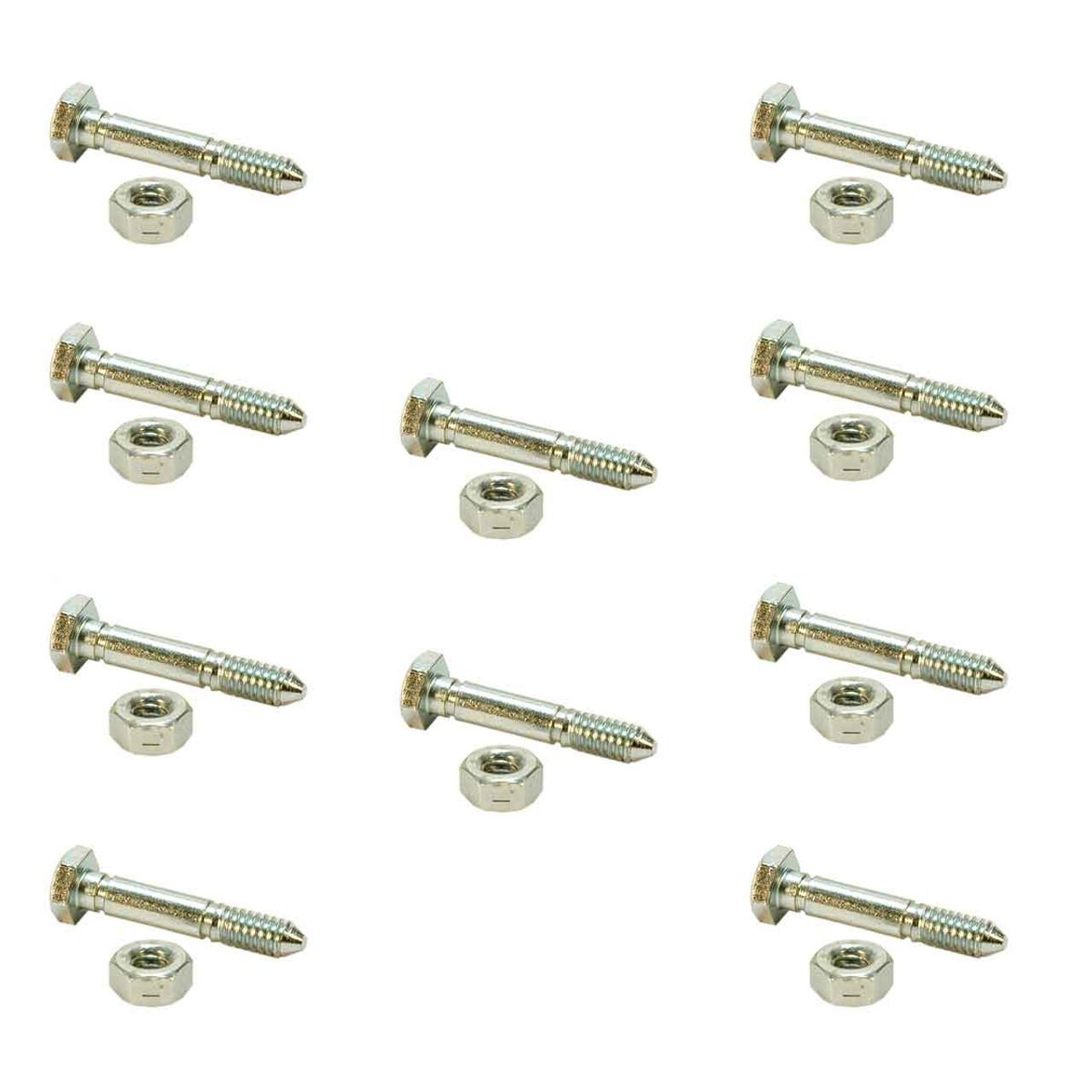 10 Pack Shear Pins Snowblower Fits Ariens 51001500 John Deere AM122156 AM136890