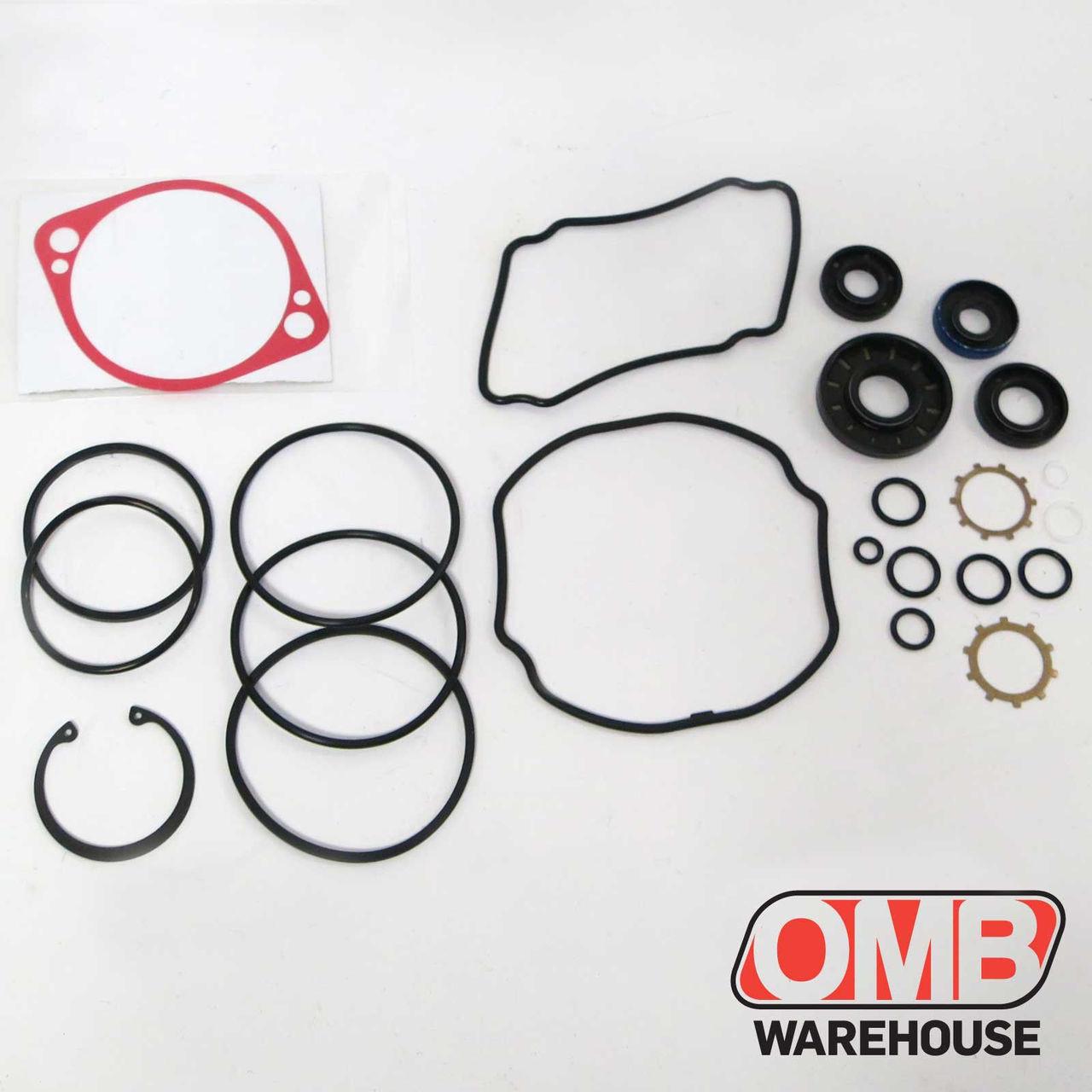 (2) Hydro Gear 70525 OEM BDP-10A Overhaul Gasket Seal Kit Fits Husqvarna