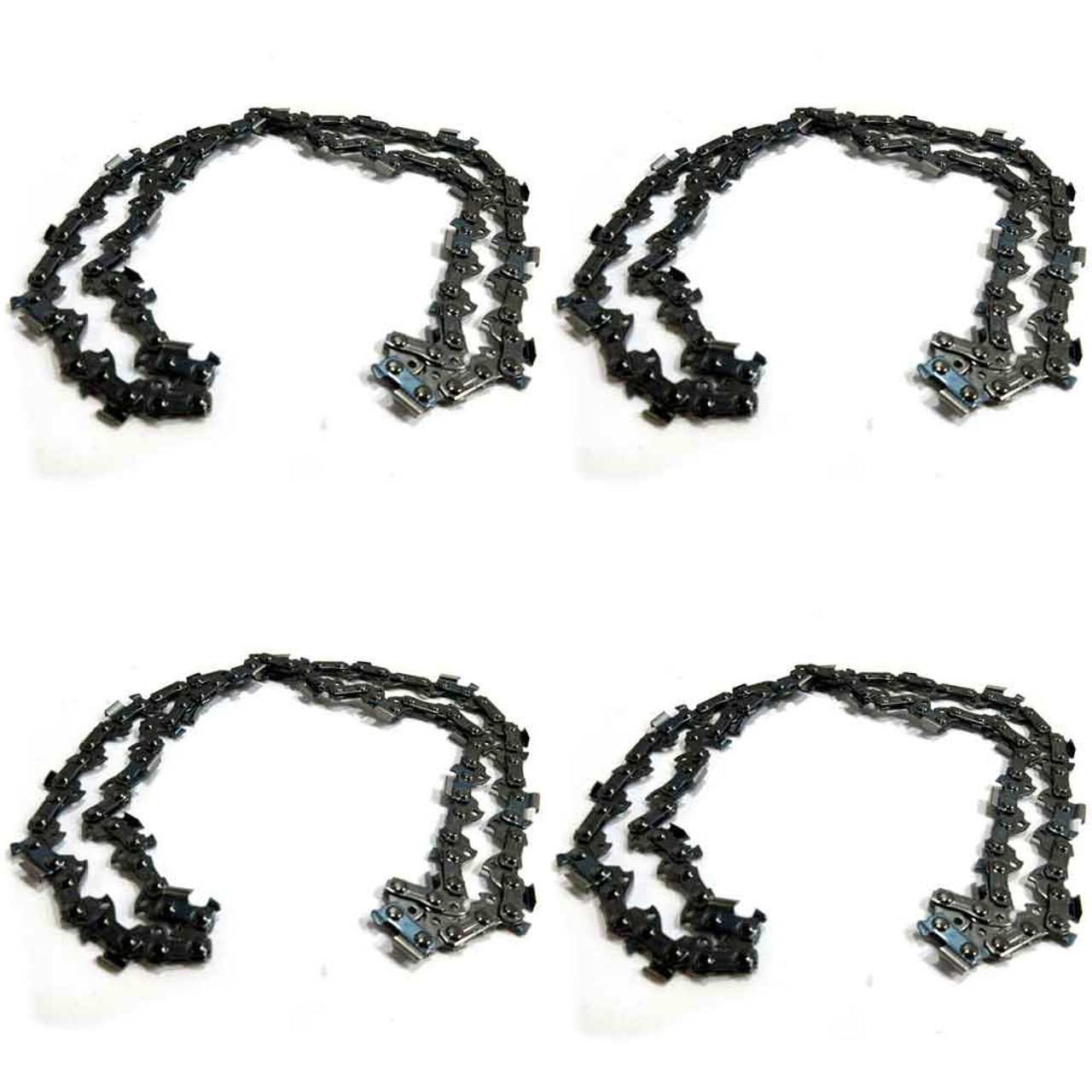 """4 Pack Oregon Chainsaw Chain for 18"""" Stihl MS 261 271 291 .325 .063 74 Pro"""