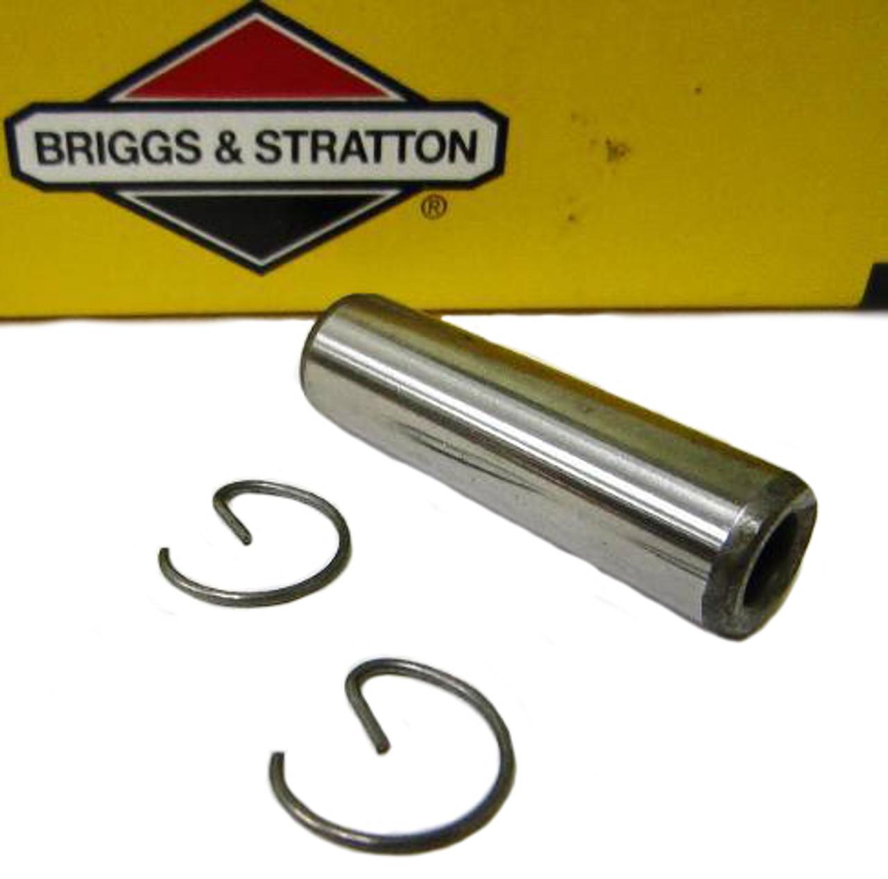 555509 B&S Piston Pin/Clips  Flathead