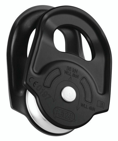 Rescue Pulley Blk By Petzl