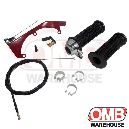"""Scratch and Dent  7/8"""" Throttle Set with Predator Throttle Linkage"""
