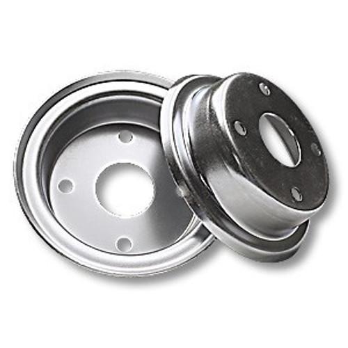 6″ Steel Wheel, 2 Halves (No Hub)