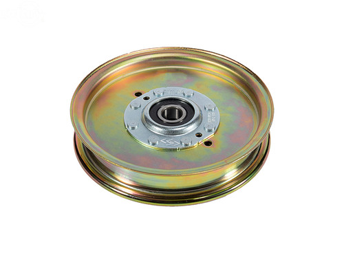 """FLAT IDLER PULLEY 6-3/4"""" Replaces EXMARK: 114-5895, 116-4670, 126-9189 Fits Models EXMARK: LAZER Z"""