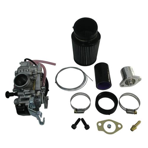 33 mm Mikuni Pumper Carb Kit, Gas, GX270 GX390, Predator 420