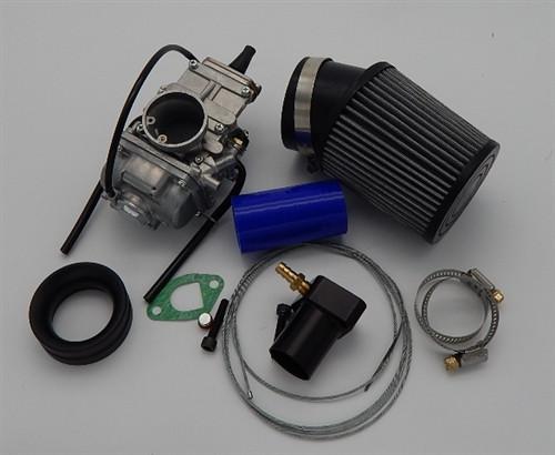 28 mm Mikuni Flat Slide Carb Kit, Methanol, GX200 Predator 212