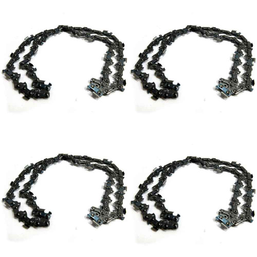 """4 Pack Oregon Chainsaw Chain for 18"""" Stihl MS 261 271 291 .325 .063 74"""