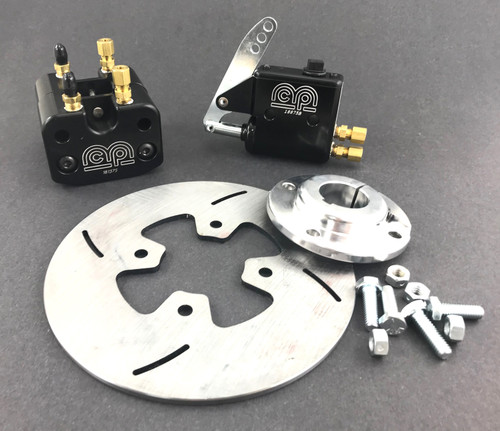 """MCP Billet Brake Kit for 1-1/4"""" Axles (no fluid or hose)"""