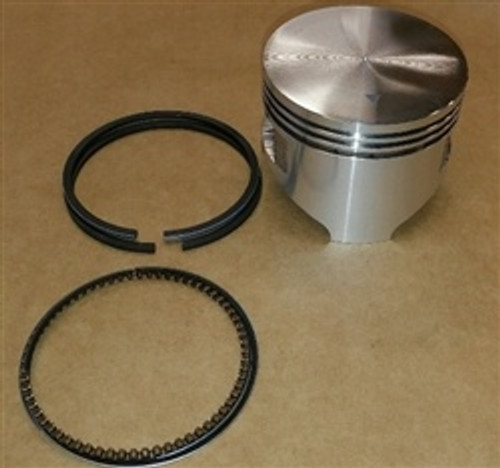 Piston, GX270 Flat Top, Aftermarket, with Rings