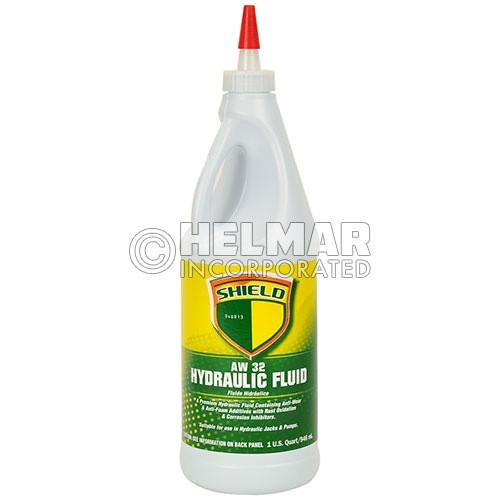 HYDRAULIC OIL, 1 QUART (AW 32)