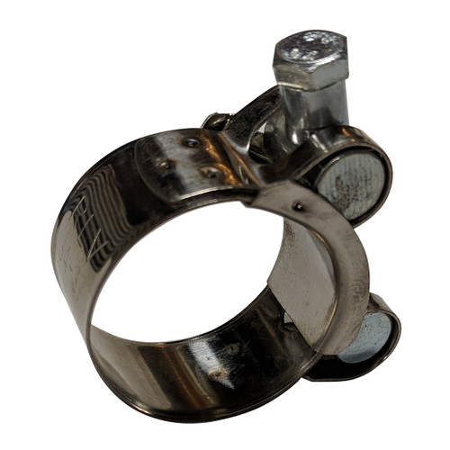 "RLV 1-5/16"" Stainless Muffler Clamp"