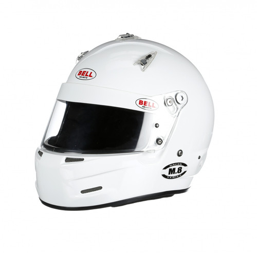 Bell M8 Racing Helmet White Extra Small