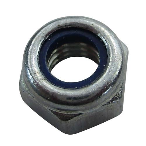 M6 x 1.0 - 6mm Short Nylock Nut