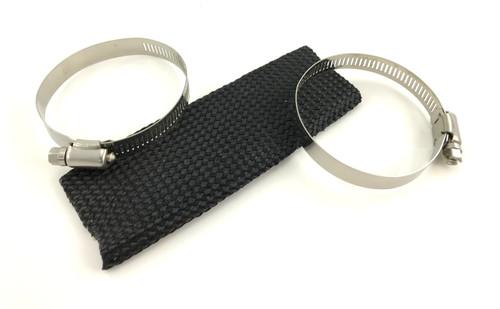 "6"" Silencer Sleeve Kit - w/Clamps"
