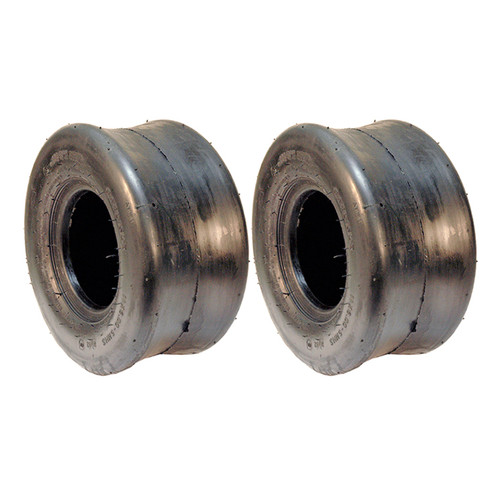 Set of (2) 11 X 6.00-5 (11X600X5) SMOOTH TIRES