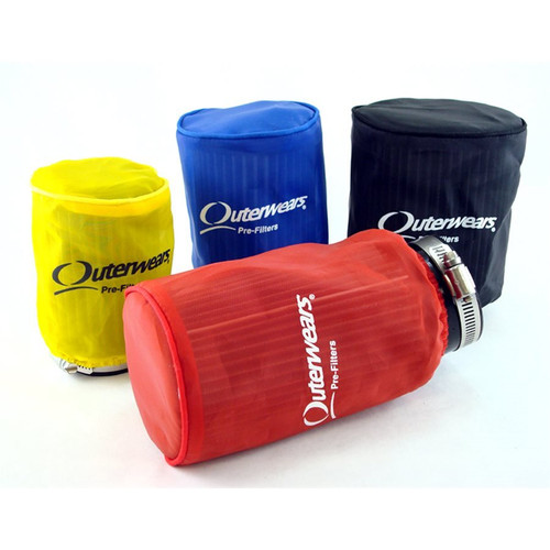 """Outerwears Prefilter, 4-1/2"""" x 4"""" (Red)"""