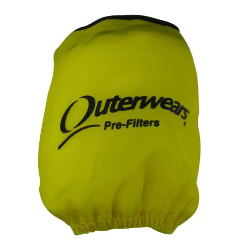 "Outerwears Prefilter, 3"" x 4"" (Yellow)"