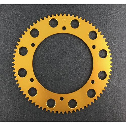 Pit Parts 74T solid sprocket (#219 chain)