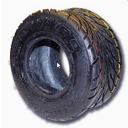 10-450 X 5 RAIN SLICK TIRE, 4 PLY, 5.0″ WIDE, 9.5″ OD