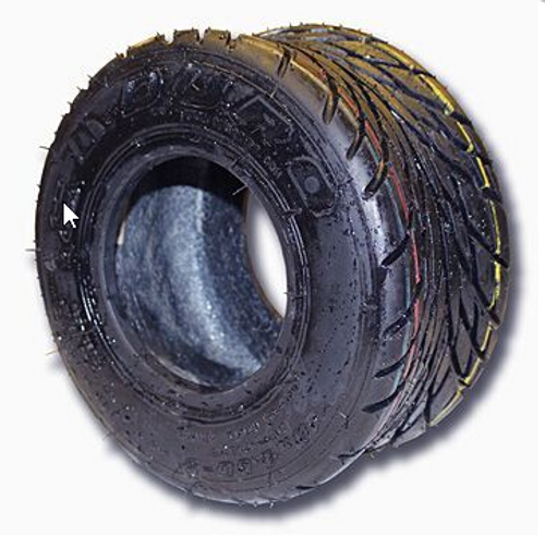 11-600 X 5 RAIN SLICK TIRE, 4 PLY, TUBELESS, 6.25″ WIDE, 10.2″ OD