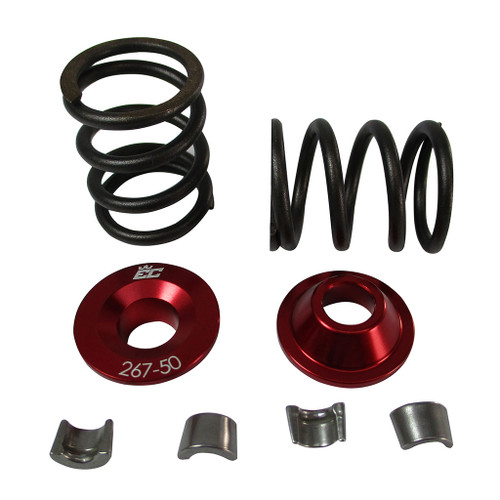 267-50-26 Billet Aluminum Retainers for 5mm Valves w/26lbs Springs