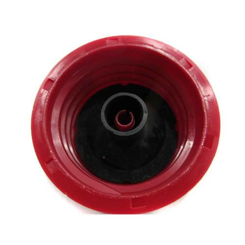 Tecumseh OEM Fuel Cap (Red Plastic)(1-1/2in. I.D.) - 37845