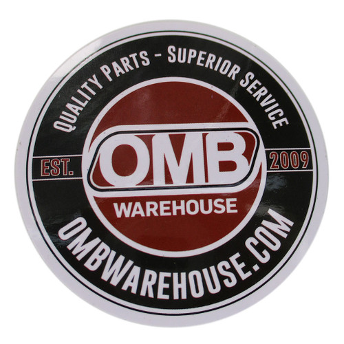 OMB Warehouse Round Recoil Sticker